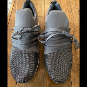 Qupid Gray /Silver Sneakers 6